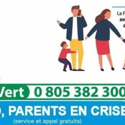 """""""ALLÔ PARENTS EN CRISE - COVID"""