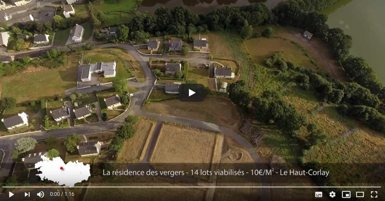Le Haut-Corlay - terrains à vendre au cœur de la Bretagne 0