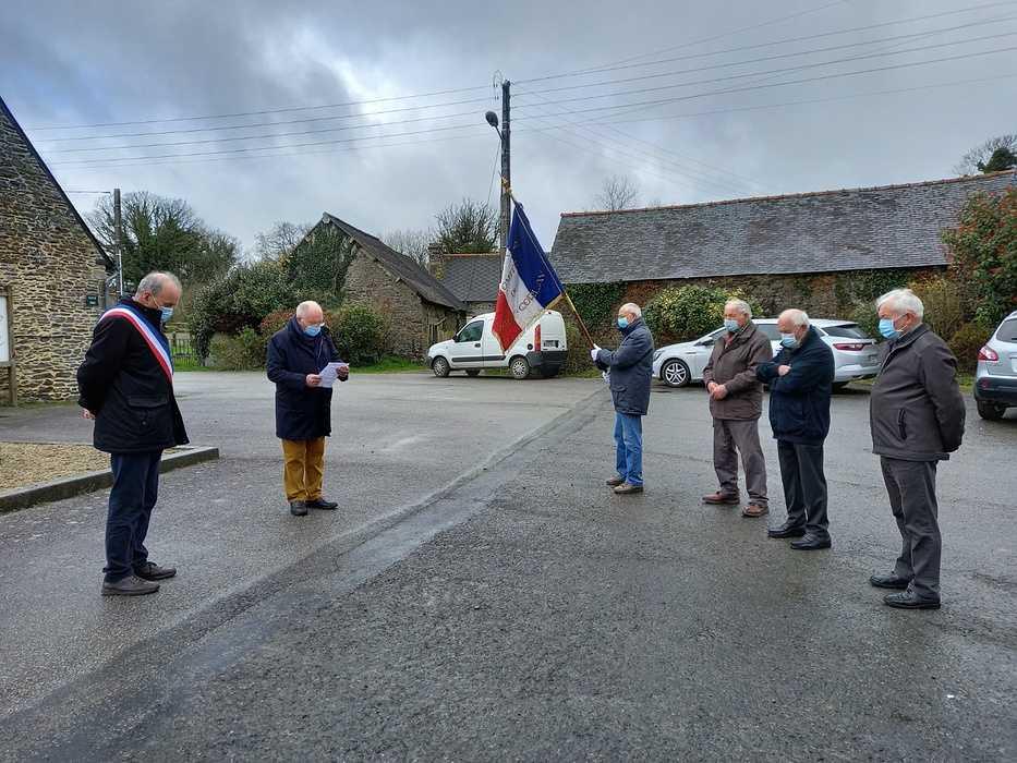 Le Haut-Corlay: Commémoration du 59ème anniversaire du 19 mars 1962 0