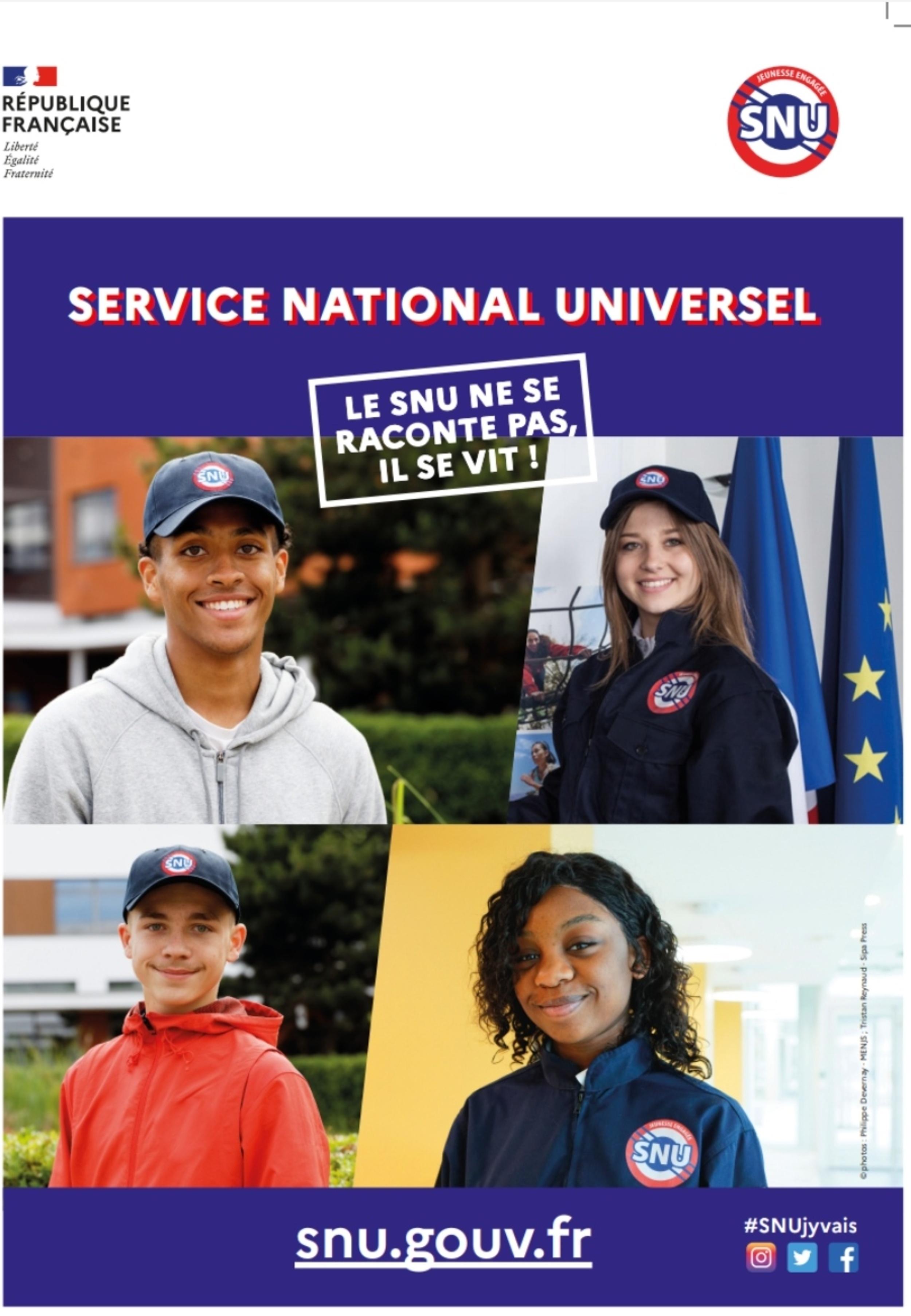 Déploiement du Service National Universel (SNU)