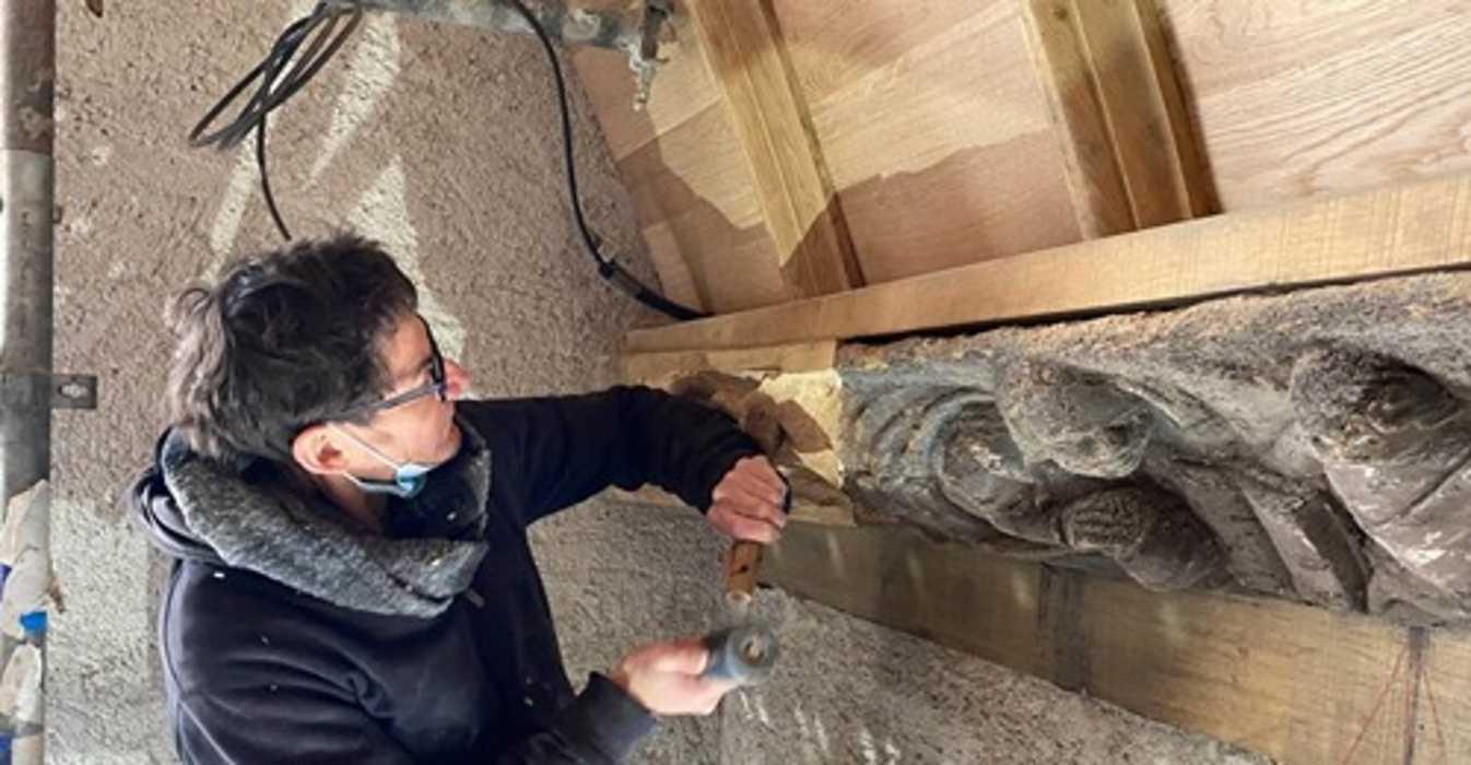 Le Haut-Corlay. Les travaux de restauration de l'église avancent 0
