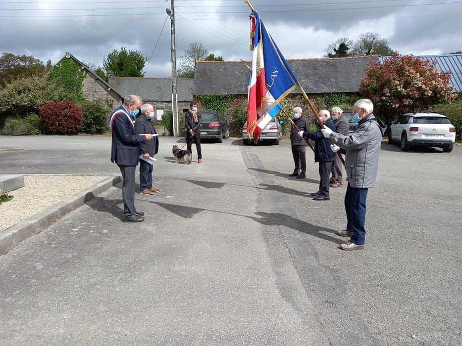 Commémoration du 76ème anniversaire de la victoire du 8 mai 1945 au Haut-Corlay 0